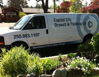 Capital City Drywall & Painting van